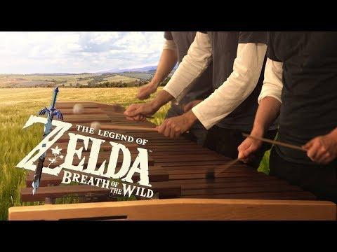 Zelda Breath of the Wild - Main Theme on Marimba