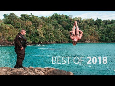 Best of 2018 Cliff Jumping   Robert Wall