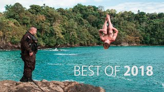 Best of 2018 Cliff Jumping | Robert Wall