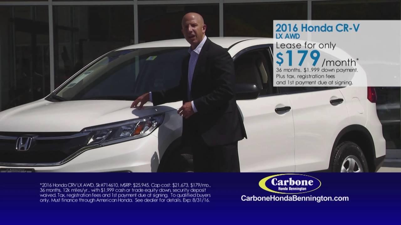 Attractive Carbone Honda Bennington August 2016