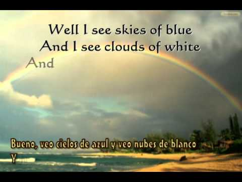 Somewhere Over The Rainbow Subtitulos en Español (Original)