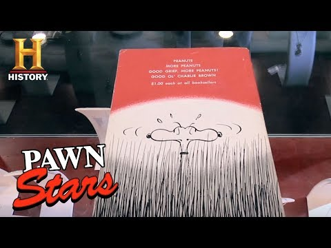 Pawn Stars: 1958 Snoopy Comic Book (Season 9) | History