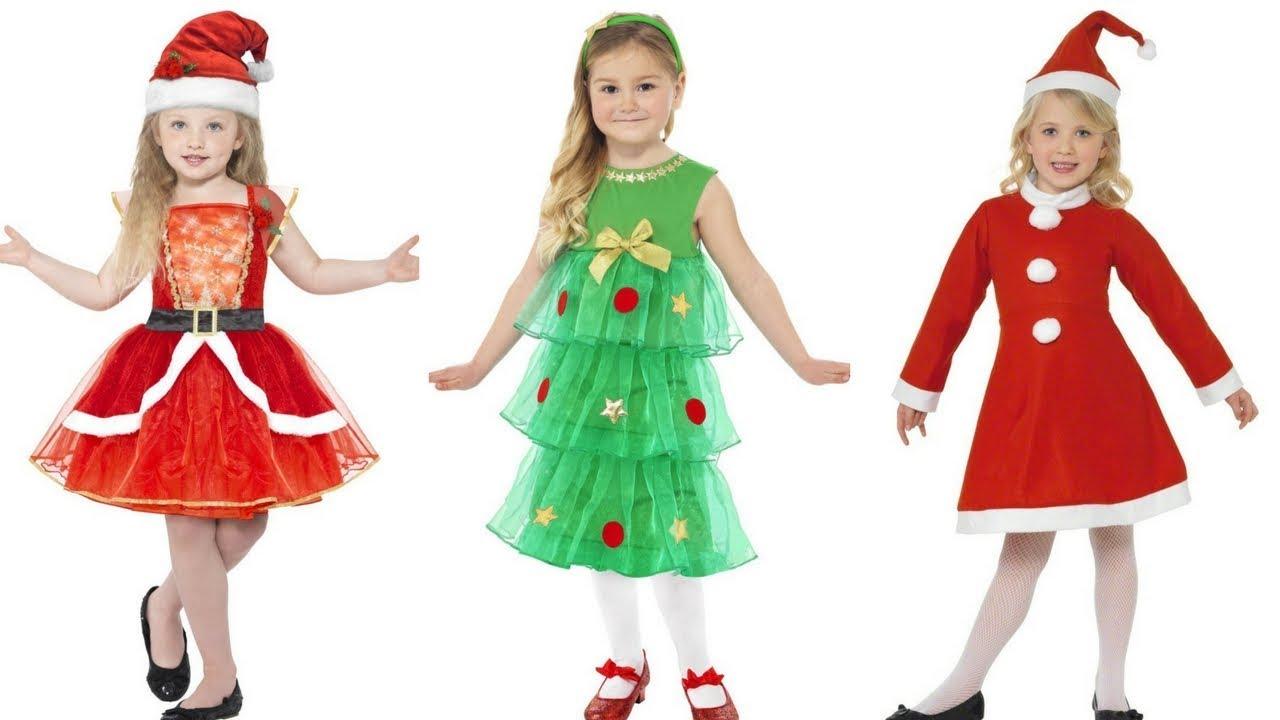 Vestidos Navideños Para Niñas Moda Fashion Vestidos Niñas