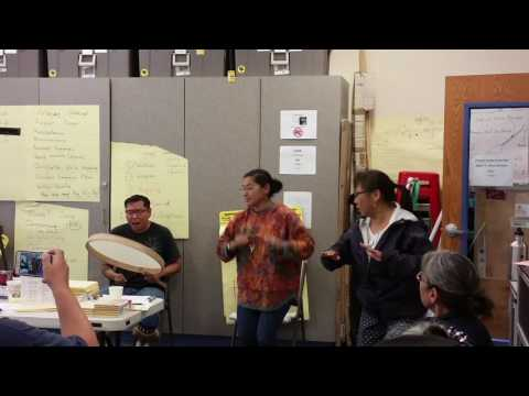 Inupiaq immersion camp king island song 2