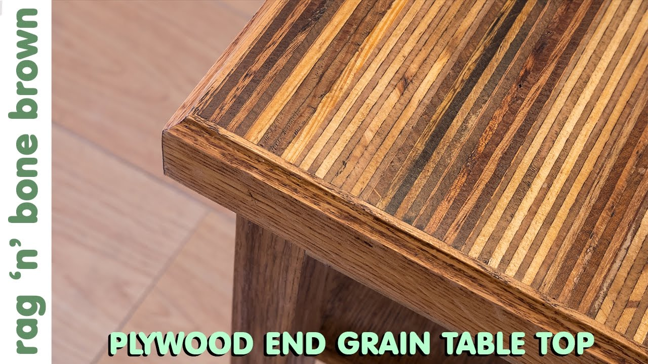 Making A Plywood End Grain Table Top From Offcuts   Part 1 Of 2   YouTube
