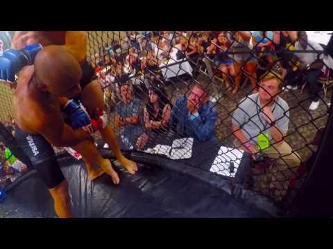 Hardrock MMA 91 Ref Cam Nikolos Hoobler-Sherff vs. Travis Conner GoPro