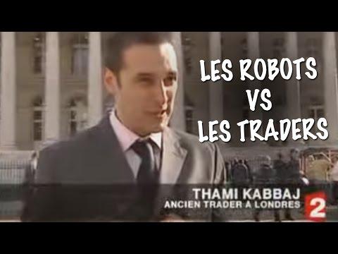 Les Robots peuvent-ils battre les traders ? ITW de Thami Kabbaj par France 2