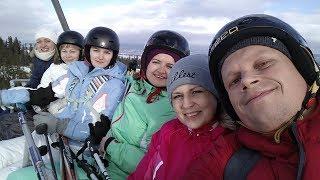 Мы и лыжи, покорение Татр