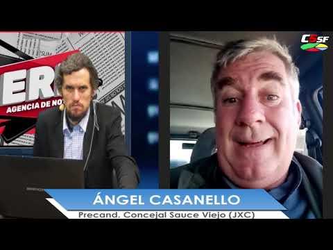 Ángel Casanello: Queremos que Sauce Viejo tenga una base sólida