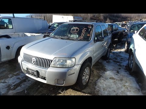 PARTING OUT A 2005 MERCURY MARINER | STOCK # N00154