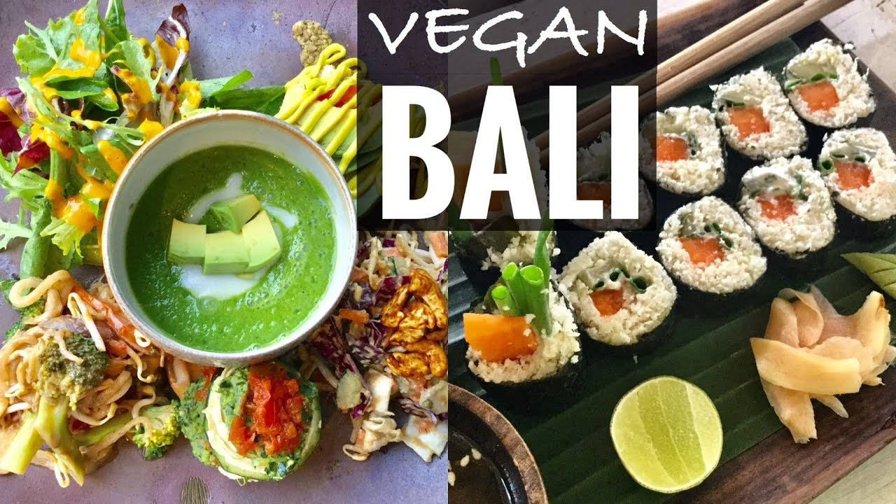 Best Raw Vegan Restaurants In Bali Youtube