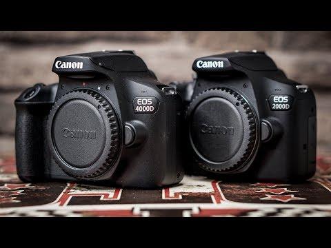 Canon EOS 2000D vs. Canon EOS 4000D | Review