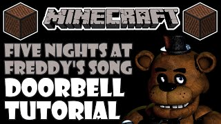 ♪ MINECRAFT Note Block Tutorial - Five Nights At Freddy