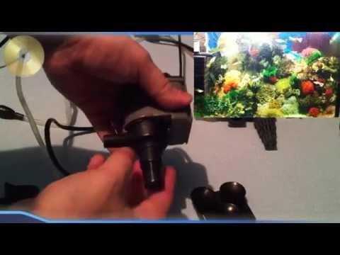 Как работает аквариумный насос