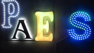 Яркая наружная реклама в Челябинске, светящиеся конструкции(, 2014-05-22T17:09:26.000Z)