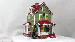 Department 56 A Christmas Story Village Bumpus House RETIRED