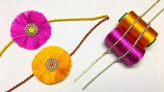 How To Make Beautiful Rakhi At Home | DIY | Rakhi Making Ideas For Raksha Bandhan