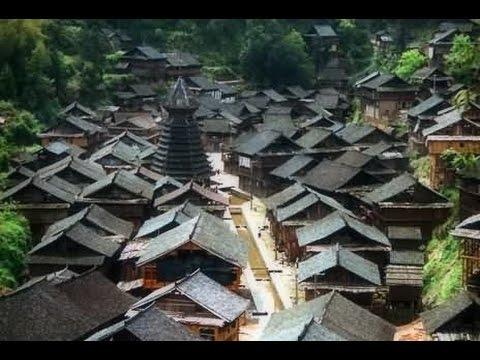 CHINE  - Villages  DONG (Guizhou)