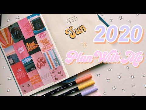 2020 bullet journal set-up + 2019 bujo flip-through