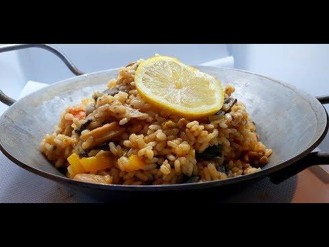 recette-de-riz-facile-(risotto-aux-fruits-de-mer)