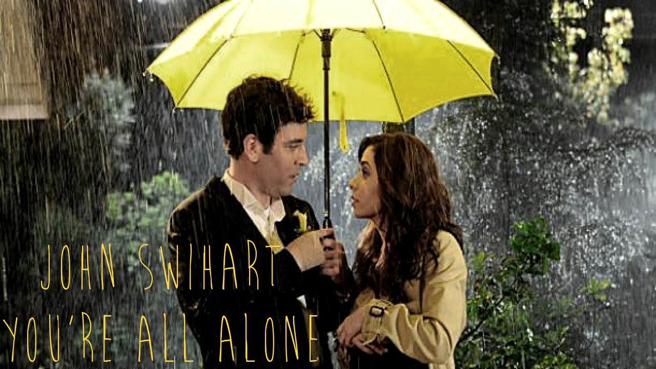 Alone Girl Wallpaper With Quotes John Swihart You Re All Alone With Ted Mosby Speech