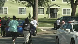 Taylor-Berry Community Promotes Peace With Police During Neighborhood Walk