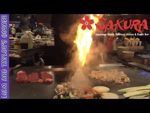 Fun TEPPANYAKI Experience At Sakura Japanese Steak, Seafood House \u0026 Sushi Bar | LTC