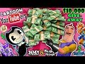 CARTOON YOUTUBERS $10,000 GIVEAWAY! Bendy & The Ink Machine & Hello Neighbor Unboxing Toys ✂ FGTEEV