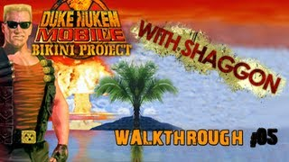 100% Walkthrough: Duke Nukem Mobile II: Bikini Project [05 - Pools of Acid]