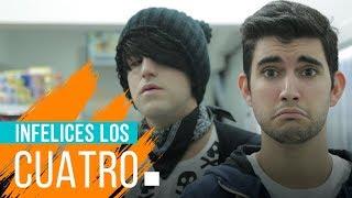 INFELICES LOS CUATRO | Hecatombe!