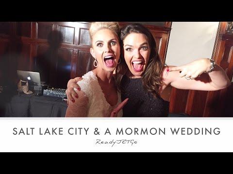 Mormon Wedding in Salt Lake City (Ready Jet Go)