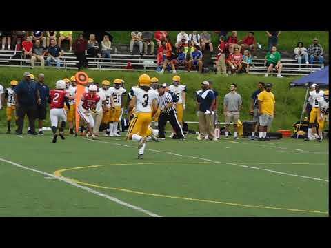 Glenn Pass To Byers Annapolis Area Christian/Concordia Prep Football 09/13/18
