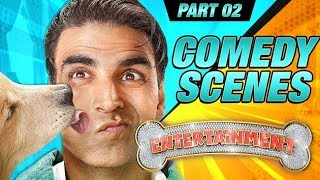 Entertainment Comedy Scenes | Akshay Kumar, Tamannaah Bhatia, Johnny Lever | Part 2