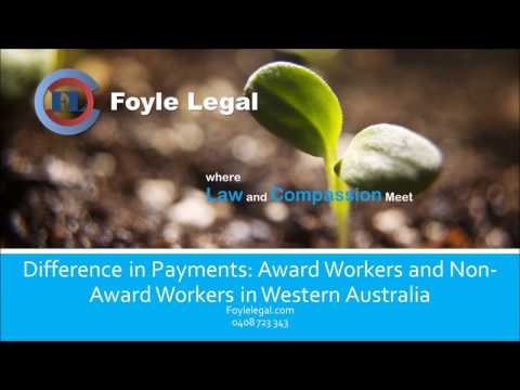 Workers Compensation Claims WA: Payments to Award and Non Award Workers