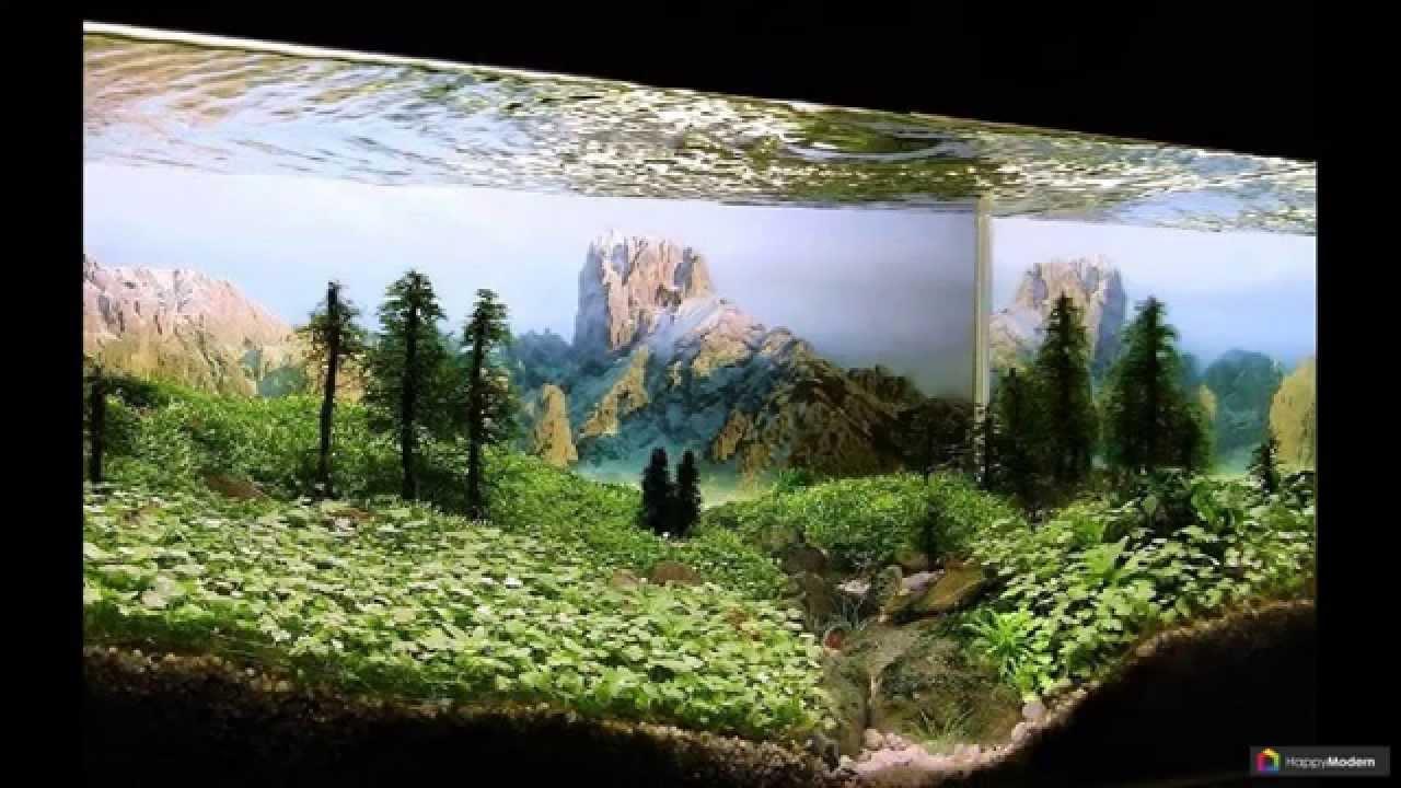 Дизайн аквариума своими руками фото 443