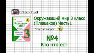 видео ГДЗ (Решебник) по Природоведению для 4 класса, ответы