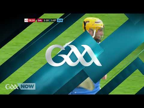 Ben Quinn goal for Dublin hurlers against Galway- 2017
