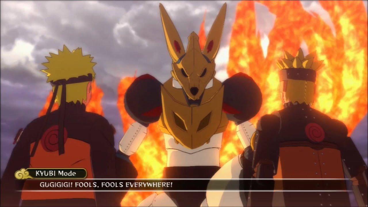 Anime Wallpaper Naruto Shippuden Naruto Vs Mecha Kurama Boss Battle Walkthrough 1080p Hd