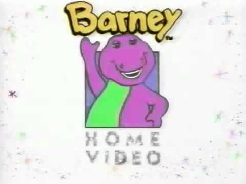 barney home video 1995 slowed down to 8 youtube rh youtube com barney home video logo byg barney home video logo 1995