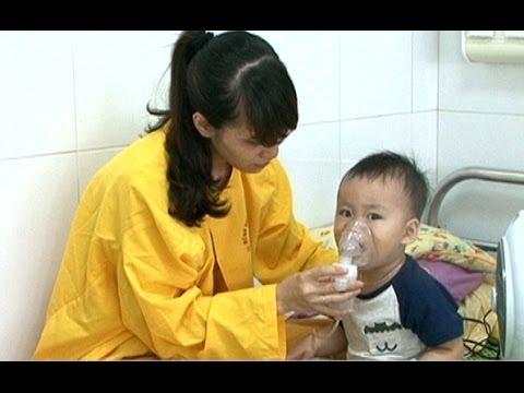 Thanh Hóa-Gia tăng các bệnh đường tiêu hóa và hô hấp ở trẻ em