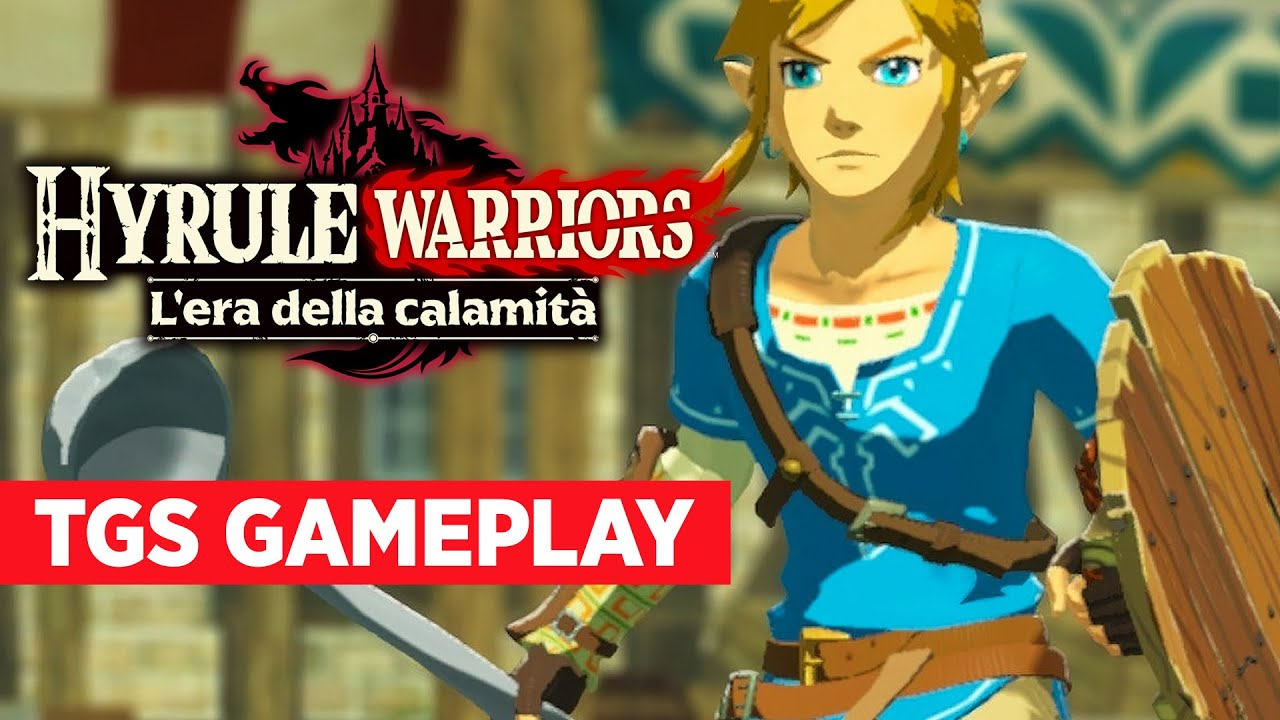 Hyrule Warriors Age Of Calamity Gameplay Demo Tgs 2020 Youtube