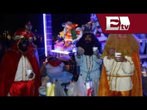 Reyes Magos se mudan a la explanada de la delegación Cuauhtémoc / Vianey Esquinca