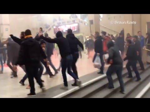 Standard de Liège fans @ Brussels | Belgian Cup Final | Croky Cup (20-3-2016)