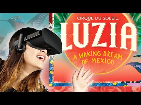 NEW Virtual Reality 360° Experience! | Through the Masks of LUZIA by Cirque du Soleil