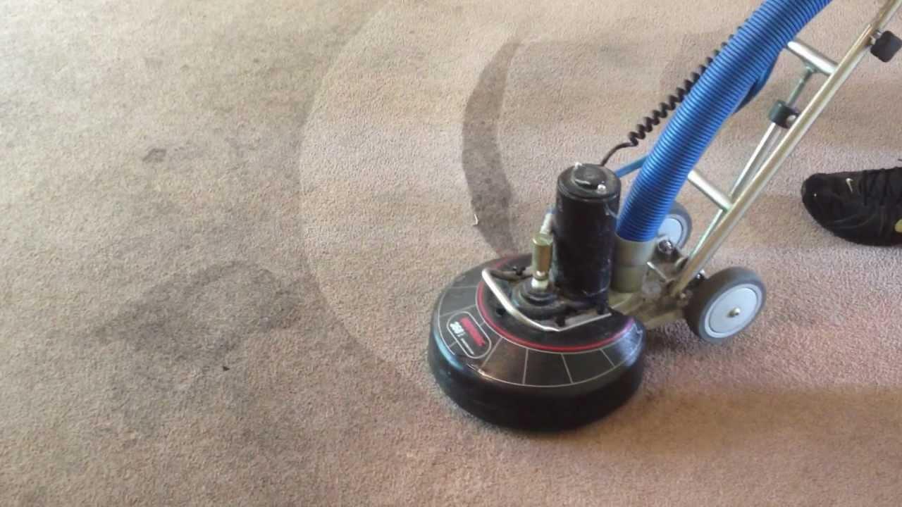 Rotovac Used On Heavily Soiled Carpet Youtube