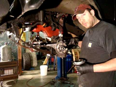 Scout 2 Dana 44 Front Axle Rebuild Tips Youtube