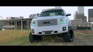 boss trucks 2014 custom gmc sierra 1500 slt w 7 suspension lift 20 fuel wheels