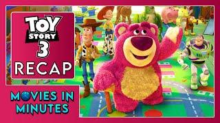 Історія іграшок 3 за 4 хвилини (відео огляд)