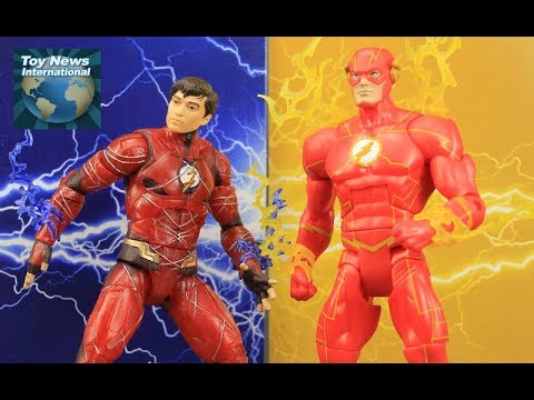 """DC Comics Multiverse 6"""" The Flash From Page To Screen Justice League Movie Figure 2-Pack Review"""