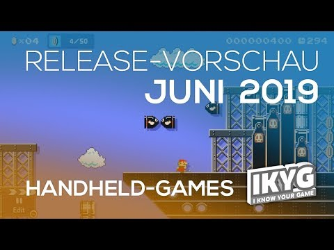 Games-Release-Vorschau - Juni 2019 - Handheld